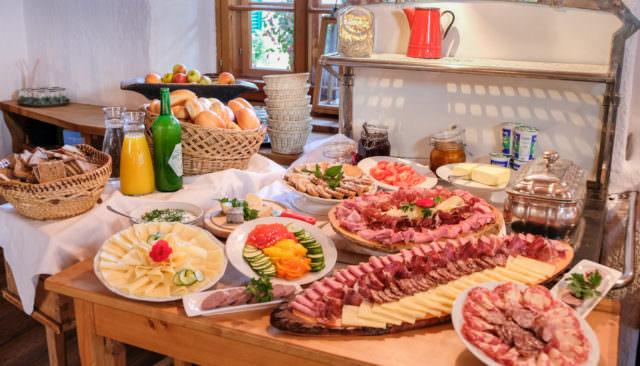 Wirtshaus Jagawirt - vielseitiges Frühstücksbuffet