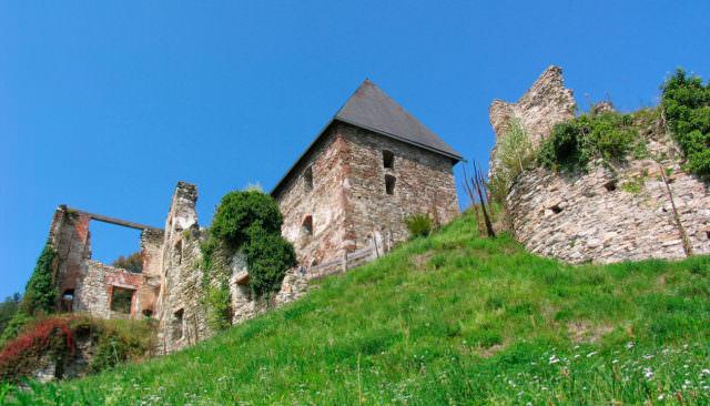 Wirtshaus Jagawirt - Burgruine Ligist